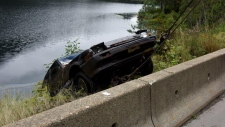 Vehicle discovered in Griffin Lake