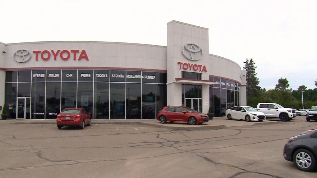 Petawawa Toyota in Pembroke.