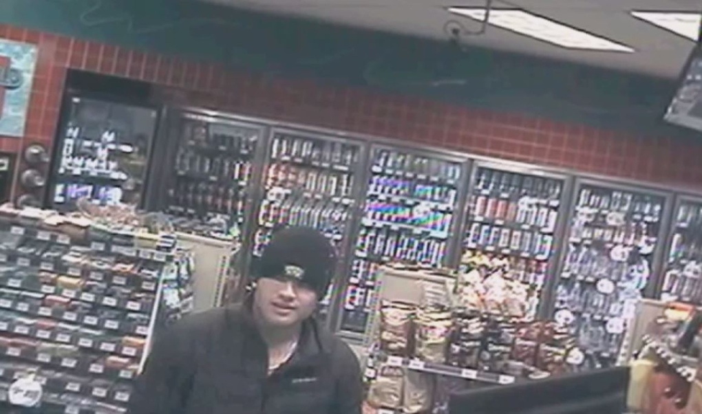 Saanich police release surveillance video of knifepoint robbery attempt