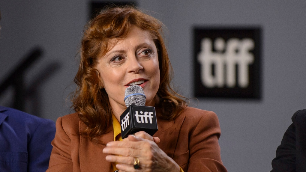 Susan Sarandon expresses support at TIFF for medically assisted suicide