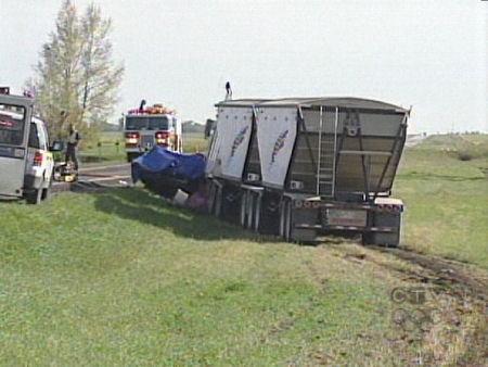 Scene of fatal crash