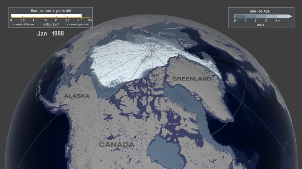 NASA sea ice