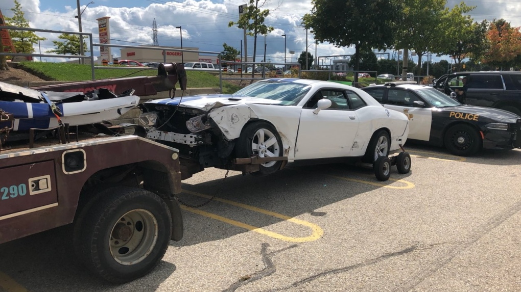 Reported street racing on Hwy. 7/8 leads to transport crash