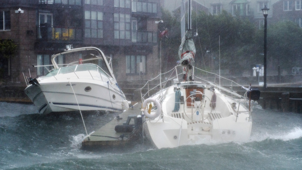 PHOTO GALLERY: Hurricane Dorian hits the Maritimes