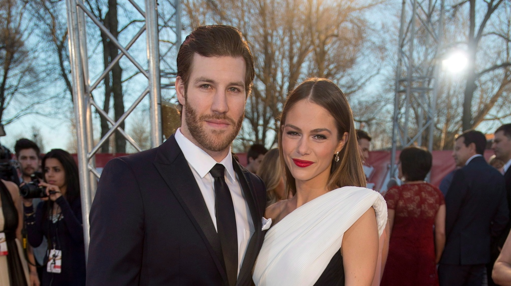 Brandon Prust and Maripier Morin