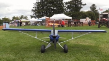 Model planes take off for air show