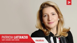 The Liberal Party of Canada announced Montreal city councillor Patricia Lattanzio will be their candidate in the riding of St-Leonard-St-Michel in October's election. (Photo: Twitter)