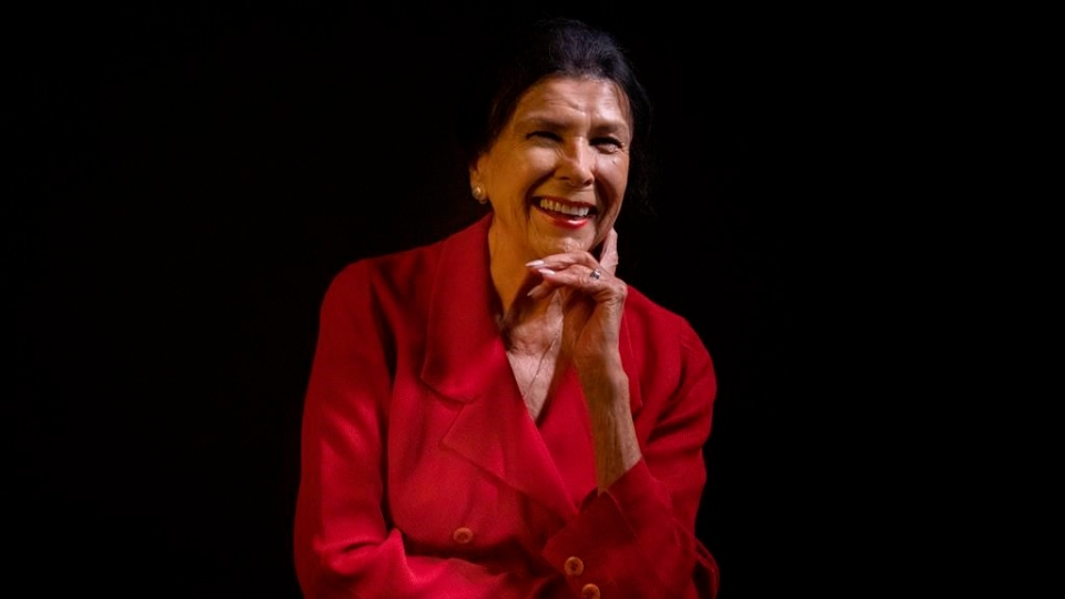 Film maker Alanis Obomsawin is photographed at the Toronto International Film Festival in Toronto on Friday, September 6, 2019. THE CANADIAN PRESS/Chris Young