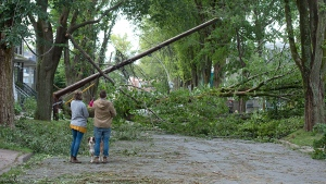 One of the most common effects of hurricanes in our region is power outages. You should have a plan ready, year-round, to go 72 hours without power. (THE CANADIAN PRESS/Andrew Vaughan)