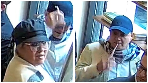 Police search for suspects wanted in Financial District theft investigation