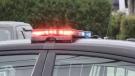 Timmins police cruiser (Sergio Arangio/CTV Northern Ontario)