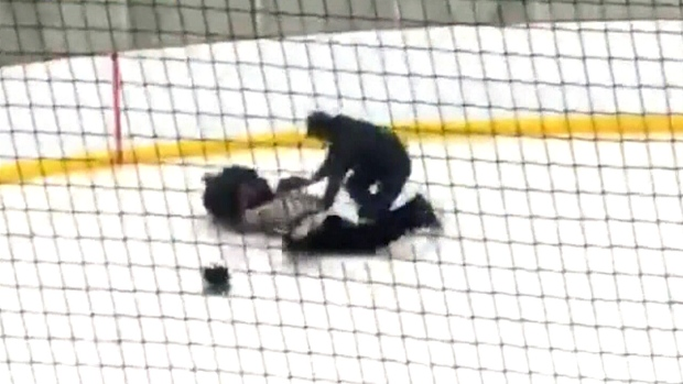 Ref attacked at pee-wee tourney in Lethbridge | CTV News