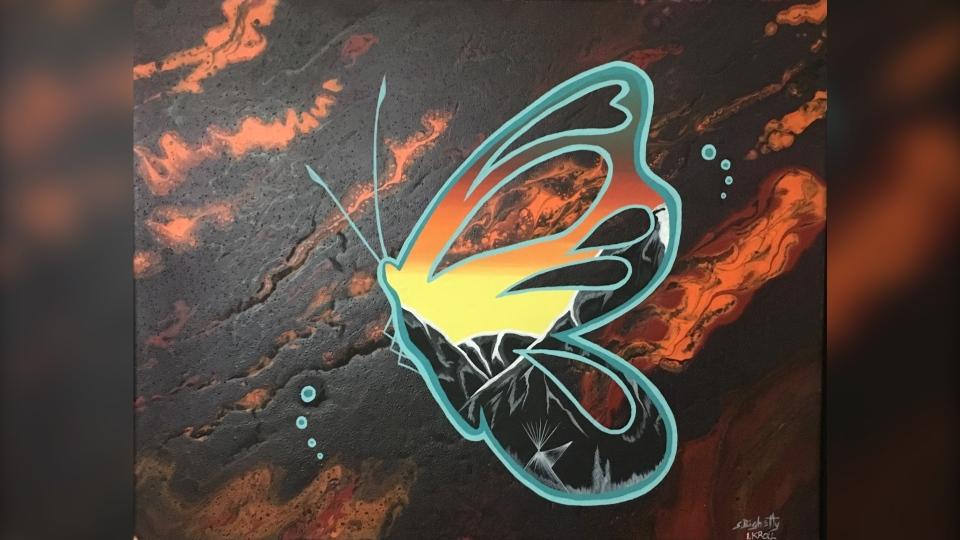 Reconciliation, Calgary artists, Sam Bighetty,
