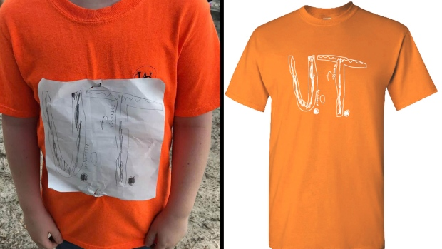University Of Tennessee Turns Bullied Schoolboy S Diy T