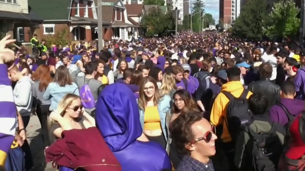 Task force hopes to put end to large unsanctioned parties in Waterloo