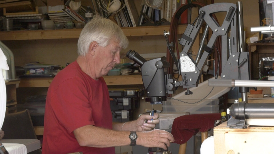 Comox Valley jeweller Dan Walker