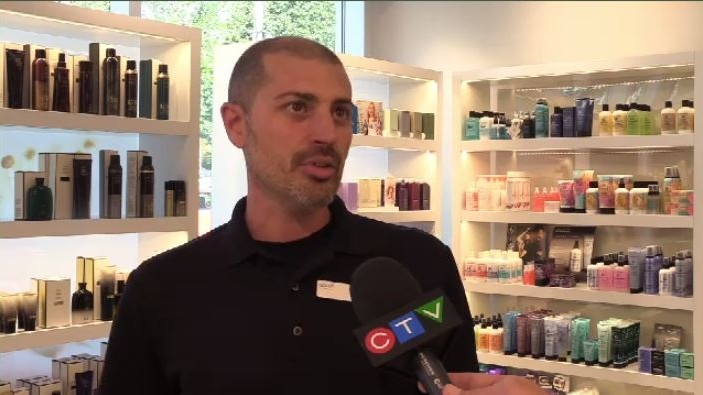 """We're happy to open our doors,"" said Justin Elie of Spirit Spa in Halifax.""Come on down, use our showers, have a coffee. It's on us."""