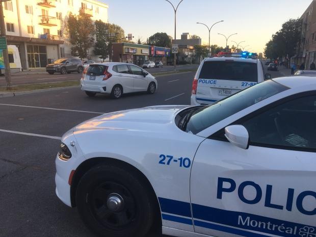 Woman hit on St. Laurent Blvd.
