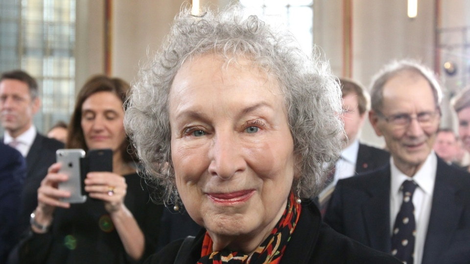 Canadian writer Margaret Atwood