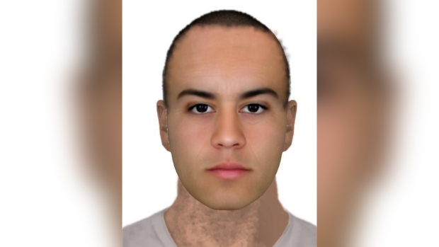 Assault suspect sketch