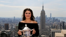 Bianca Andreescu on top of New York
