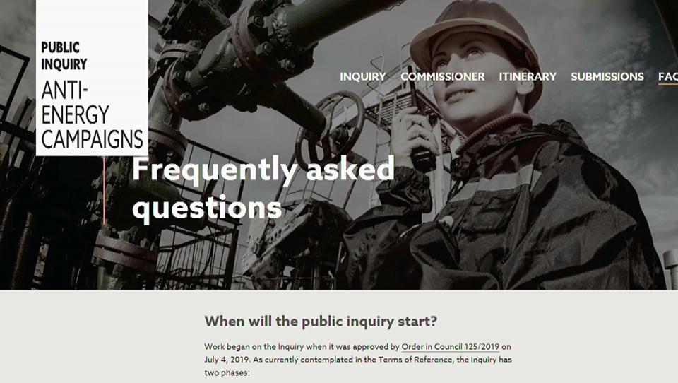 Public Inquiry, Anti-Energy Campaigns