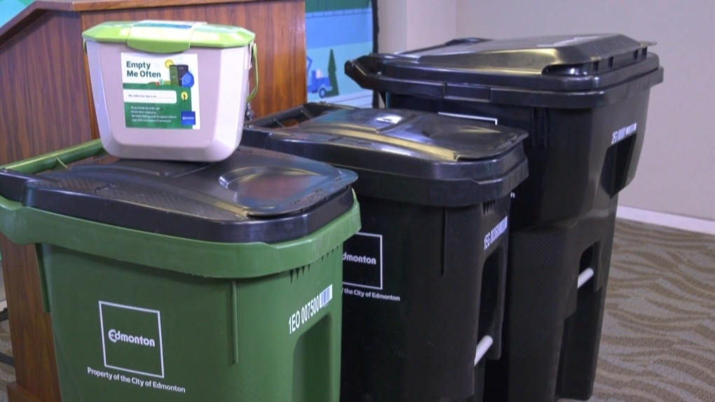 Green bins coming to all Edmonton homes by July