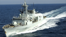 The Halifax-class frigate HMCS Ottawa joined Canada's ongoing Operation Neon in August, as part of an international effort to enforce United Nations sanctions against North Korea. (CTV News)