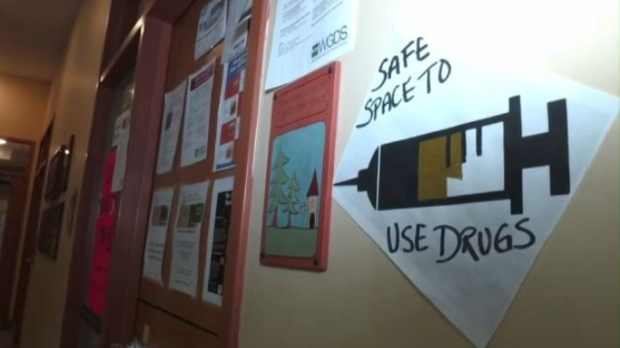 Guelph's overdose prevention site