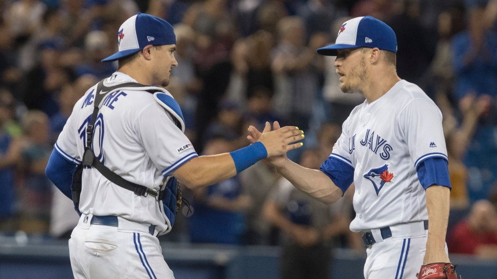 Toronto Blue Jays edge Boston Red Sox 4-3 to end seven-game losing streak