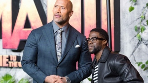 the rock and kevin hart