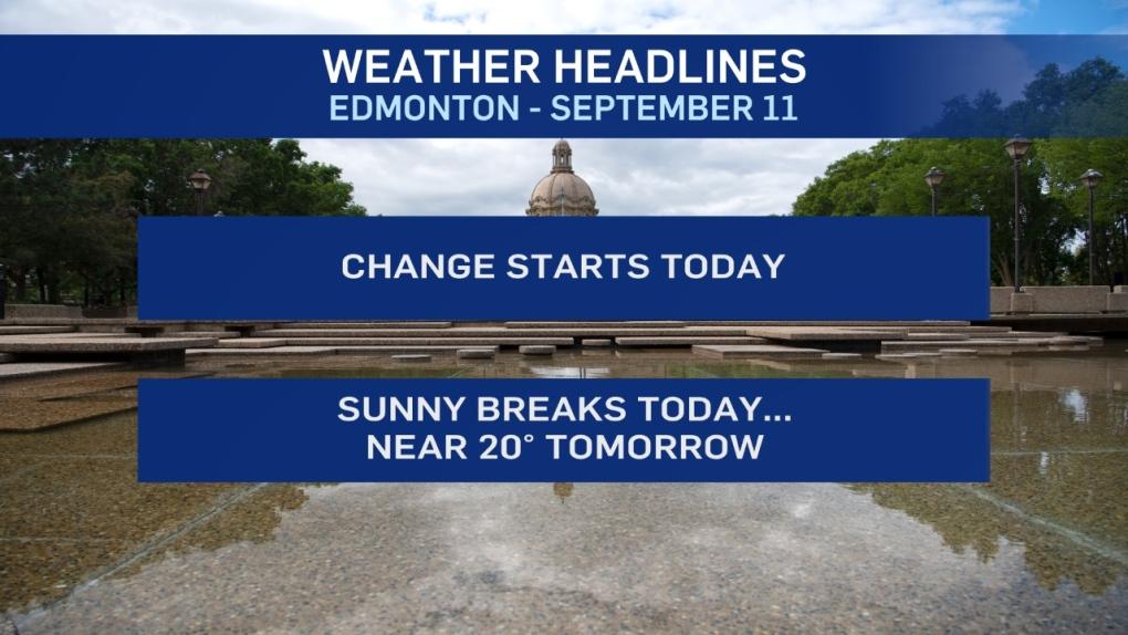 Weather headlines, Sept 11