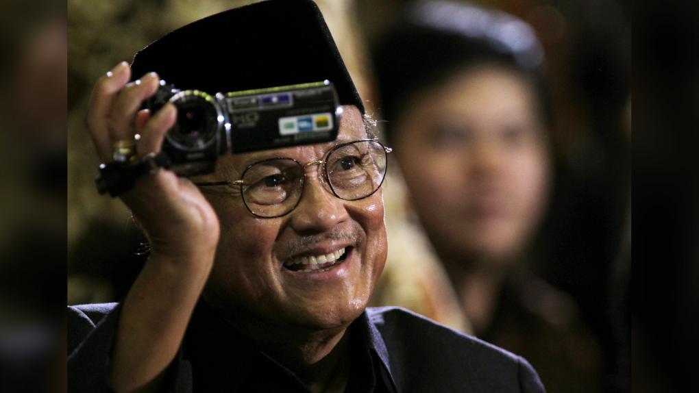 Former Indonesian President B.J. Habibie