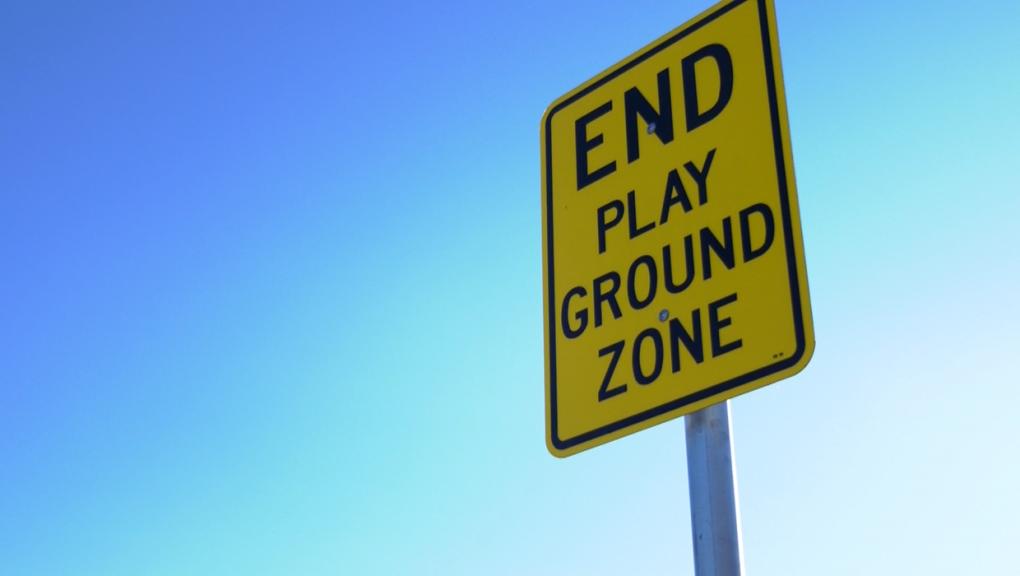 Calgary playground zone