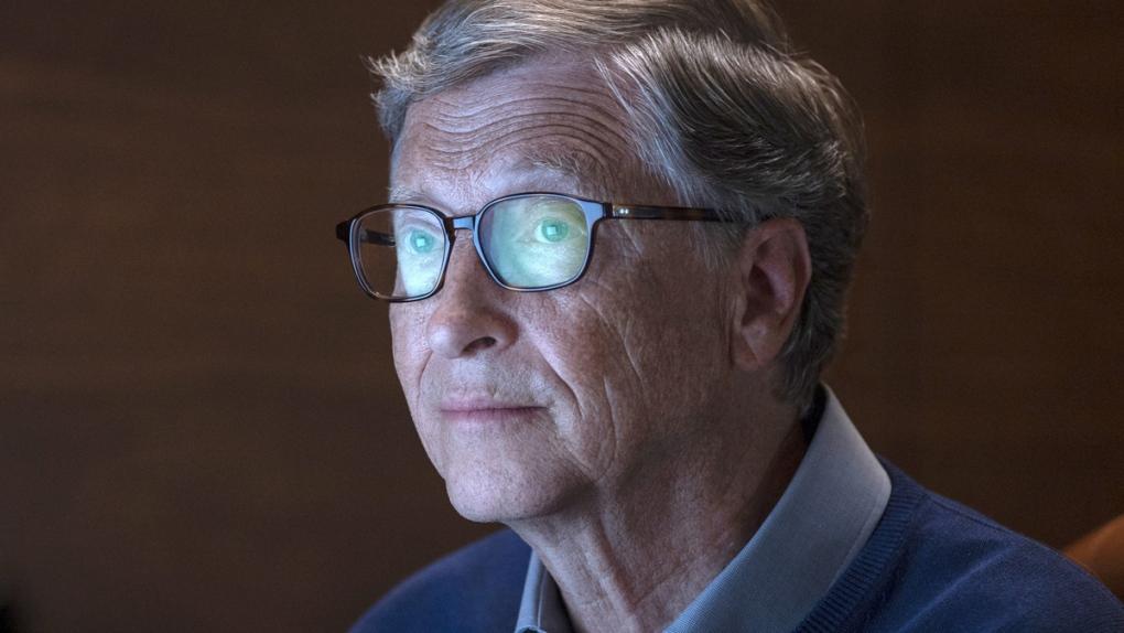 Bill Gates in a scene from 'Inside Bill's Brain'