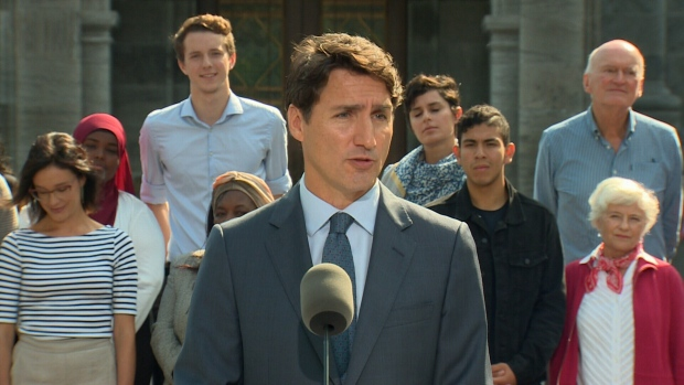 Trudeau calls federal election