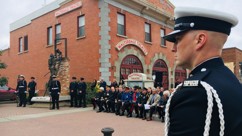 2019 firefighters memorial ceremony