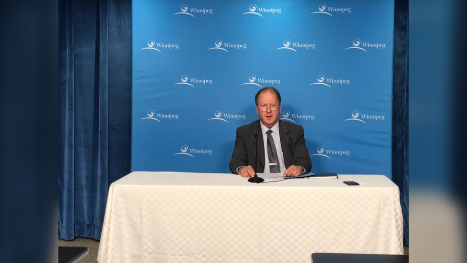 Interim Chief Administrative Officer Mike Ruta spoke to reporters Wednesday morning. (Source: Josh Crabb/CTV News)