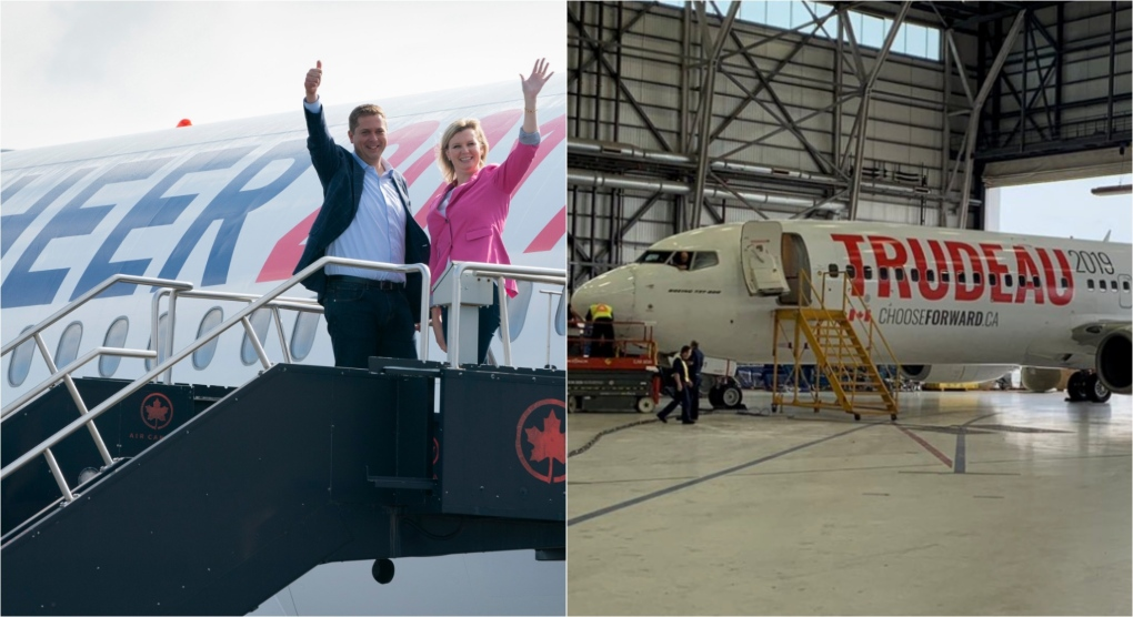 Election 2019: What we know about the leader's planes charted for the election campaign