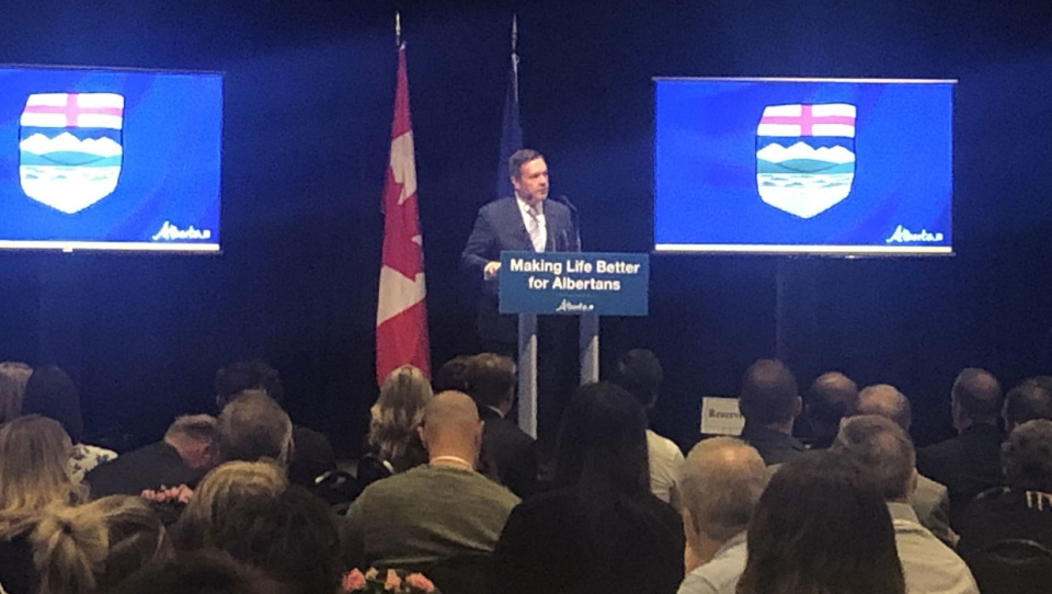 Jason Kenney, speaking to the media in Calgary on Wednesday, said Albertans need to take a hard look at the failings of the Trudeau government and consider voting Conservative instead.