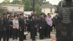 London firefighters mark the 9-11 anniversary