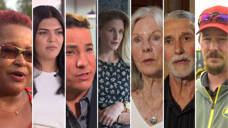 The undecided: seven Canadian voters unsure who they'll support in the 2019 federal election