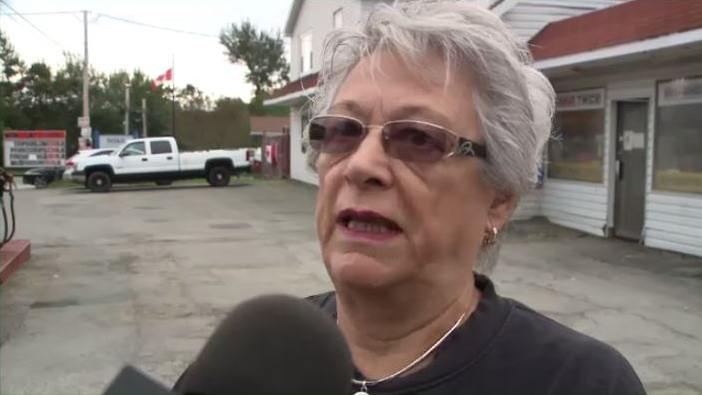 """""""We lost all of our fresh meat showcase,"""" said Carol Church, who owns a grocery store in Marion Bridge. """"We lost all of our dairy case, which included milk and cheese. In the thousands of dollars. It's a lot of money for a small business."""""""