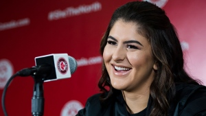 CTV National News: Andreescu returns home