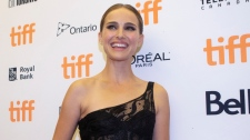 "Natalie Portman arrives on the red carpet for the film ""Lucy in the Sky"" at the Toronto International Film Festival in Toronto on Wednesday, Sept. 11, 2019. THE CANADIAN PRESS/Chris Young"