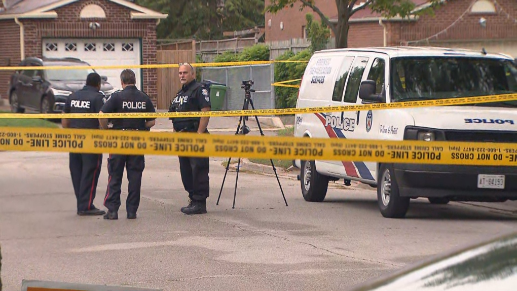 Woman dead after alleged machete attack in Scarborough