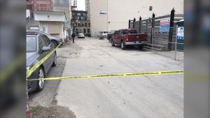 Shooting near police headquarters
