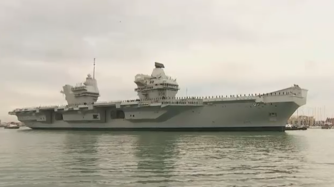 Largest warship ever built for Royal Navy visits Halifax