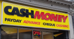 A payday loan outlet on Rideau St. in Ottawa. (Ted Raymond / CFRA)