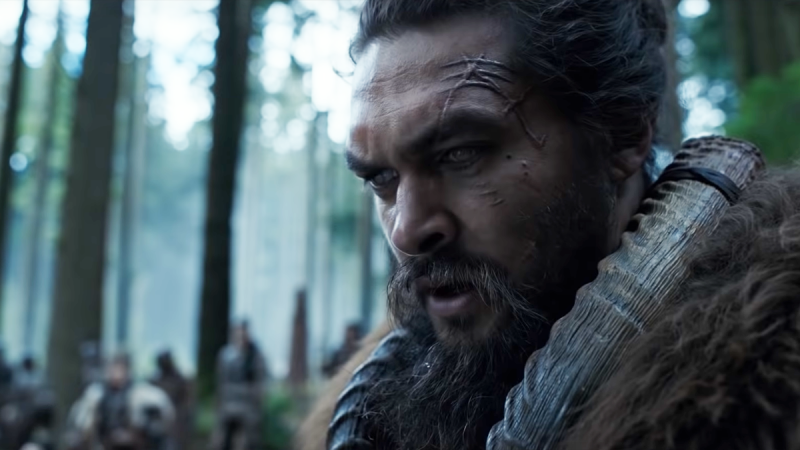 Jason Momoa is seen in an Apple TV trailer for the upcoming series 'See.'